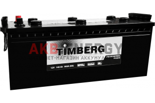TIMBERG Professional Power 140 Ач 900 А [EN] Обратный