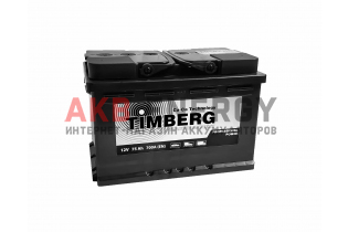 TIMBERG Professional Power 75 Ач 700 А [EN] Обратный