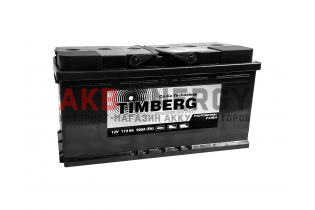TIMBERG Professional Power 110 Ач 900 А [EN] Обратный